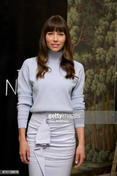 Jessica Biel at 'The Sinner' Press Conference at the London Hotel on April 18 2017 in New York City