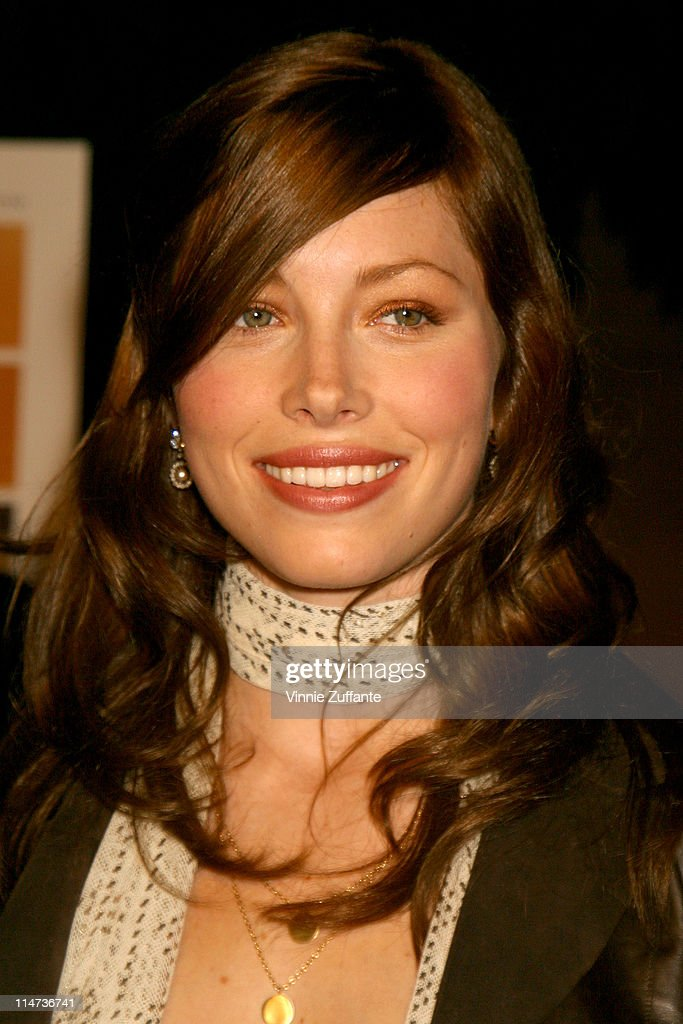"Jessica Biel attending ""The Rules of Attraction"" Premiere 10/03/02 - The Egyptian Theatre in Hollywood, CA : News Photo"