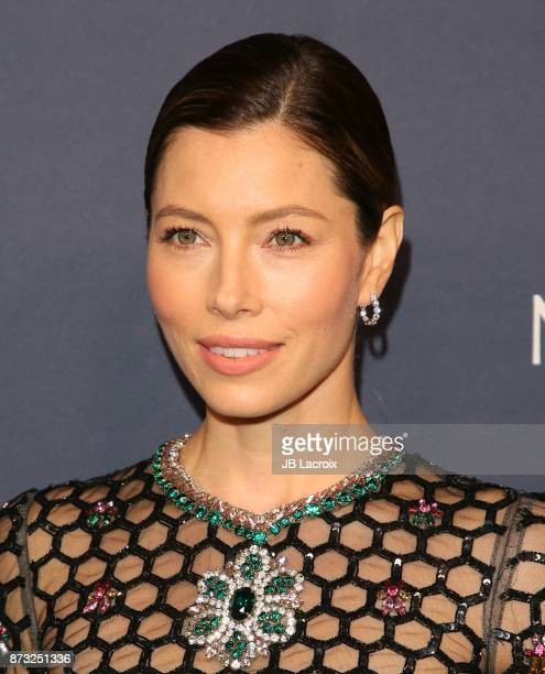 Jessica Biel attends the 2017 Baby2Baby Gala on November 11 2017 in Los Angeles California