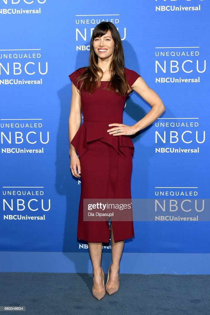 Jessica Biel attends the 2017 NBCUniversal Upfront at Radio City Music Hall on May 15, 2017 in New York City.