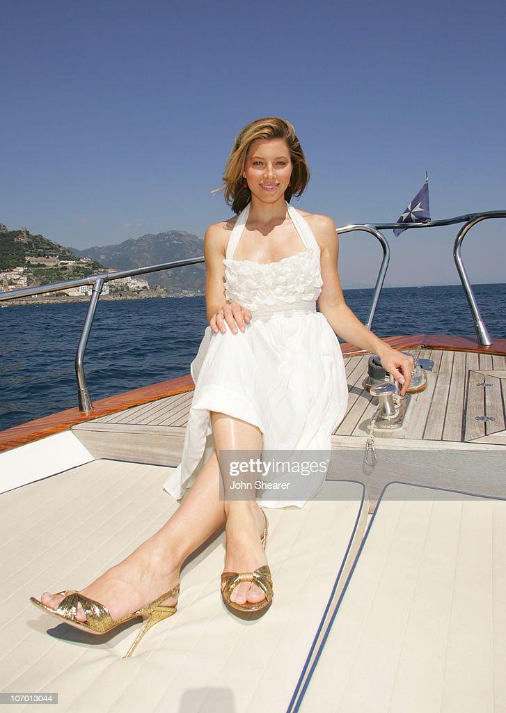 2006 Giffoni International Children's Film Festival - Jessica Biel Arrives at Giffoni : News Photo