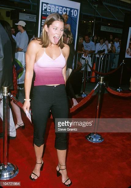 Jessica Biel during 'American Pie' West Coast Premiere at Cineplex Odeon Universal Studios Cinema in Universal City California United States