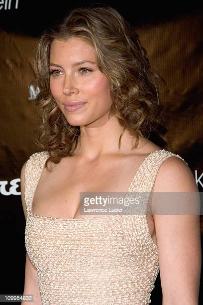 Jessica Biel during Esquire Unveils Jessica Biel as Sexiest Woman Alive at Esquire Downtown in New York NY United States