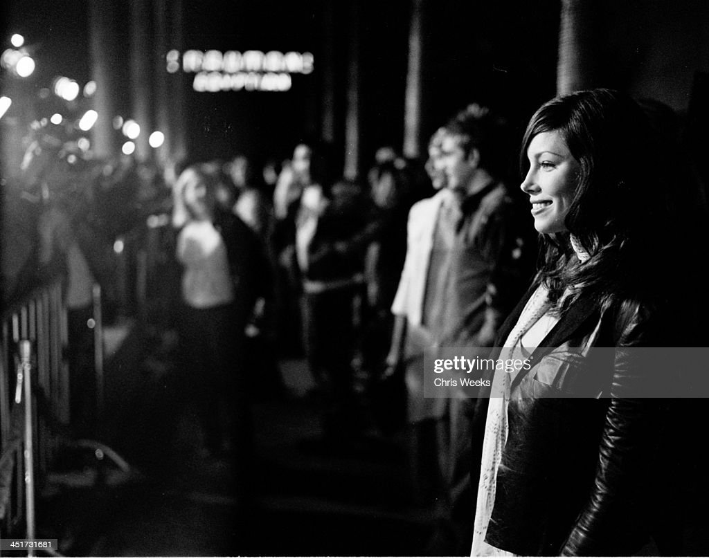 Jessica biel during the rules of attraction premiere after party black and white