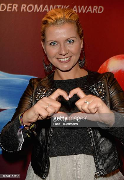 Jessica Boehrs attends the Blaue Blume Awards during 64th Berlinale International Film Festival on February 14 2014 in Berlin Germany
