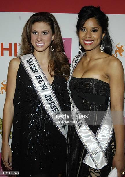 Jessica Boyington Miss New Jersey USA and Adriana Diaz Miss New York USA