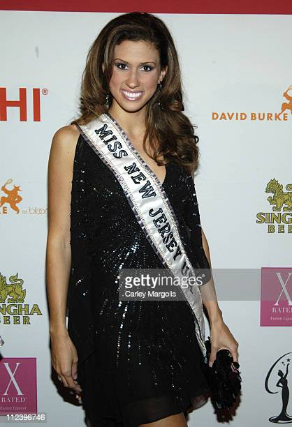Jessica Boyington Miss New Jersey USA during Donald Trump Drew Lachey and Carson Kressley Launch New Beauty Book The Miss Universe Guide to Beauty...