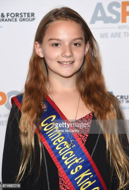 Jessica Brocksom attends The ASPCA 2017 Humane Awards Luncheon at Cipriani 42nd Street on November 16 2017 in New York City
