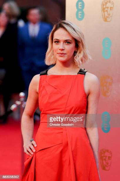Jessica Brown Findlay at the British Academy Film Awards 2017 at The Royal Albert Hall on February 12 2017 in London England