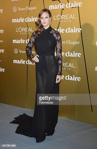 Jessica Bueno attends 'Marie Claire Prix de la Moda' 2013 at the French Ambassador residence on November 21 2013 in Madrid Spain