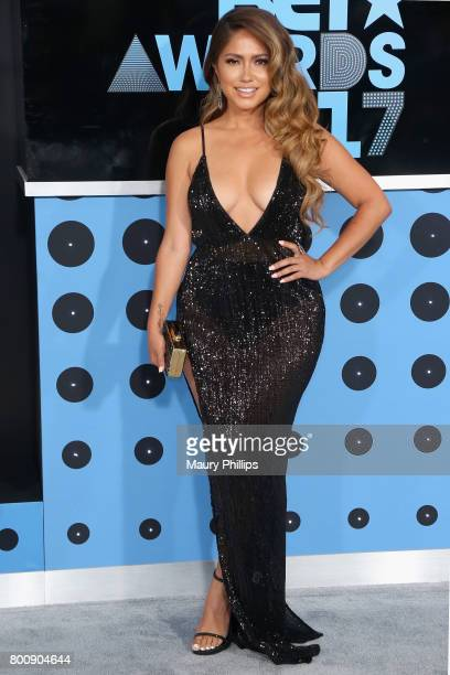 Jessica Burciaga at the 2017 BET Awards at Microsoft Square on June 25 2017 in Los Angeles California