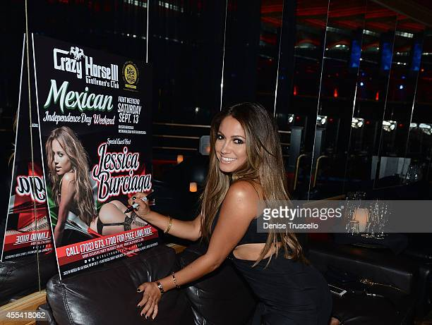 Jessica Burciaga hosts Mexican Independence Day party at Crazy Horse III GentlemenÕs Club on September 13 2014 in Las Vegas Nevada