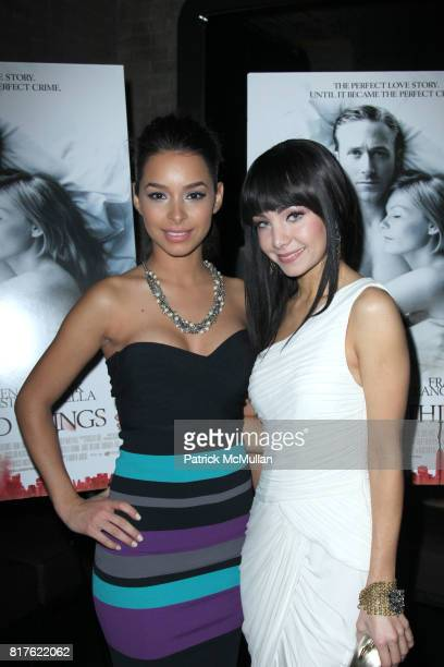 Jessica Caban and Ksenia Solo attend The New York Premiere of Magnolia Pictures ALL GOOD THINGS at The SVA Theatre on December 1 2010 in New York City