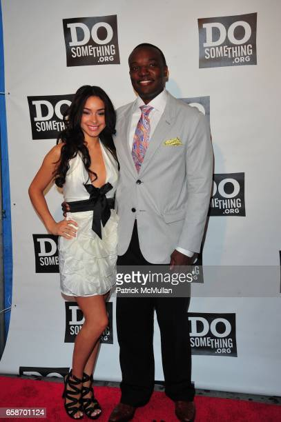 Jessica Caban and Kwame Jackson attend DO SOMETHING Awards at Apollo Theater on June 4 2009 in New York City