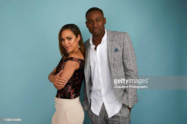 Jessica Camacho and J. Alex Brinson of CBS's 'All Rise' pose for a portrait during the 2019 Summer Television Critics Association Press Tour at The...