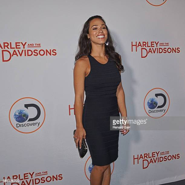 Jessica Camacho at Petersen Automotive Museum on August 1 2016 in Los Angeles California