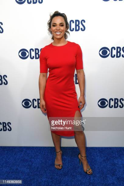 Jessica Camacho attends the 2019 CBS Upfront at The Plaza on May 15 2019 in New York City