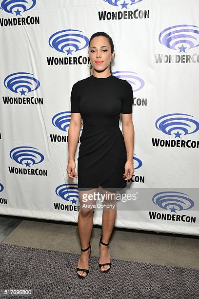 Jessica Camacho attends the 'Sleepy Hollow' panel at WonderCon 2016 at Los Angeles Convention Center on March 26 2016 in Los Angeles California