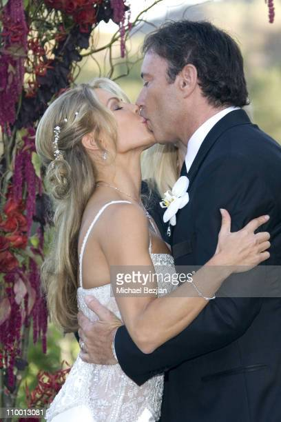 Jessica Canseco and Garth Fisher during Wedding of Dr Garth Fisher and Jessica Canseco at Private Home in Bel Air California United States