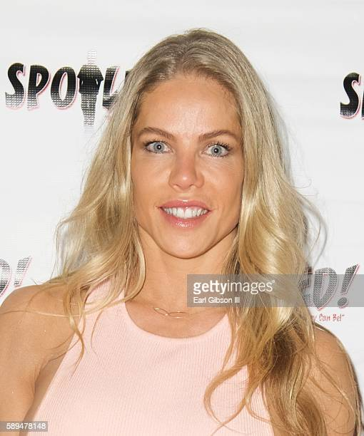 Jessica Canseco attends 3rd Annual Face of Spoiled hosted by Kym Whitley on August 13 2016 in Los Angeles California