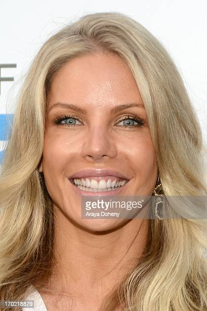 Jessica Canseco attends a fundraiser benefiting Mercy For Animals at Private Residence on June 8 2013 in Los Angeles California