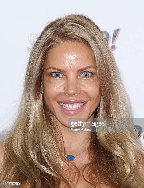 Jessica Canseco attends Face of Spoiled Annual Fashion Show Contest at Siren Studios on July 26 2014 in Hollywood California