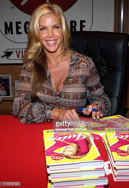 Jessica Canseco during Jessica Canseco Signs Her Book Juicy Confessions of a Former Baseball Wife at the Virgin Megastore October 6 2005 at Virgin...