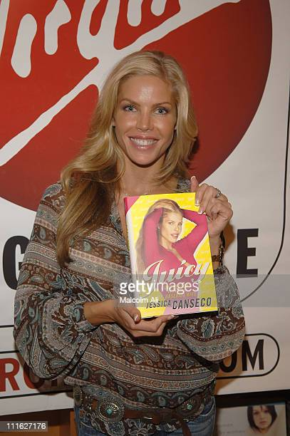 Jessica Canseco during Jessica Canseco Signs Her Book Juicy Confessions of a Former Baseball Wife at Virgin Megastore in Los Angeles October 6 2005...