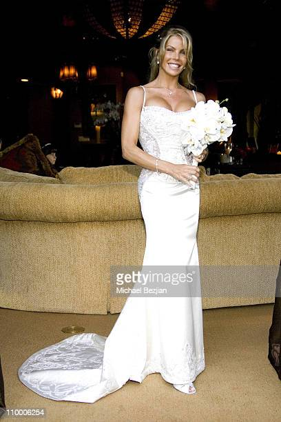 Jessica Canseco during Wedding of Dr Garth Fisher and Jessica Canseco at Private Home in Bel Air California United States