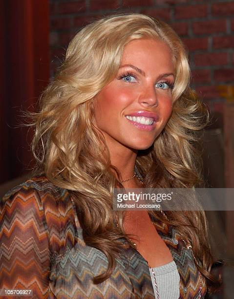 Jessica Canseco *Exclusive Coverage* during Jessica Canseco Visits Spike TV's Casino Cinema August 16 2005 at Metropolis Studios in New York City New...
