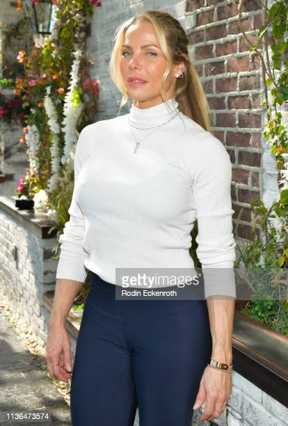 Jessica Canseco poses for a portrait at Brittny Gastineau Hosts EyeOnGlam X 1849 Wine at Catch LA on March 17 2019 in West Hollywood California