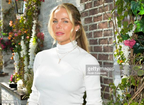 Jessica Canseco poses for portrait at Brittny Gastineau Hosts EyeOnGlam X 1849 Wine at Catch LA on March 17 2019 in West Hollywood California
