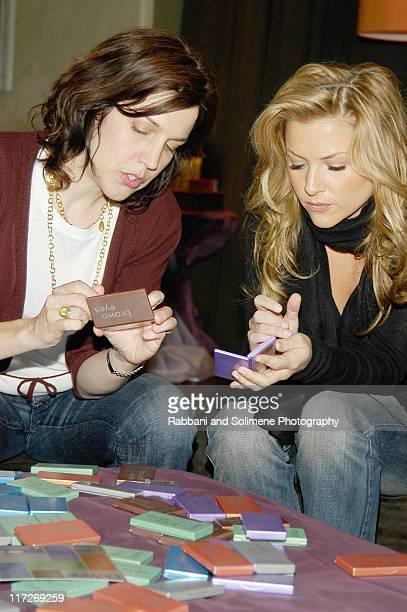 Jessica Capshaw and Cristina Bartolucci of DuWop Cosmetics