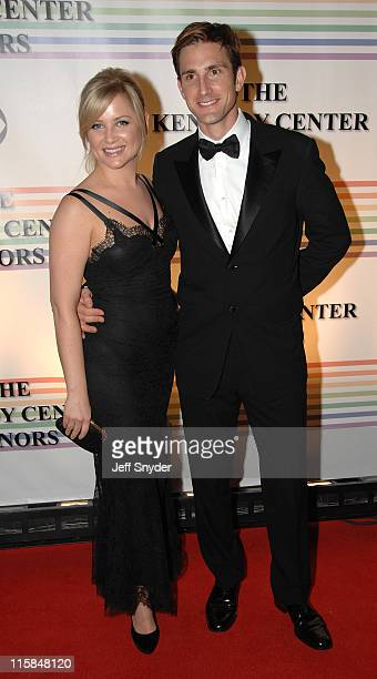 Jessica Capshaw and guest during 29th Annual Kennedy Center Honors at John F Kennedy Center for the Performing Arts in Washington DC United States