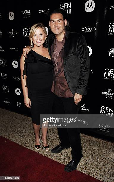 Jessica Capshaw and Ian Gerard during Gen Art's Eighth Annual Styles International Design Competition 2006 - Arrivals and Front Row at Hammerstein...