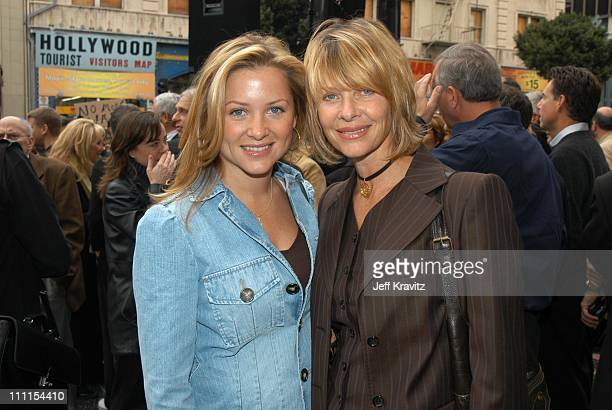 Jessica Capshaw and Kate Capshaw during Spielberg Receives Star on Walk of Fame at Hollywood in Hollywood CA United States