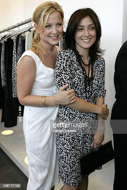 Jessica Capshaw and Sasha Alexander during Diane von Furstenberg Los Angeles Store Opening - Luncheon at Diane von Furstenberg Boutique in Los...
