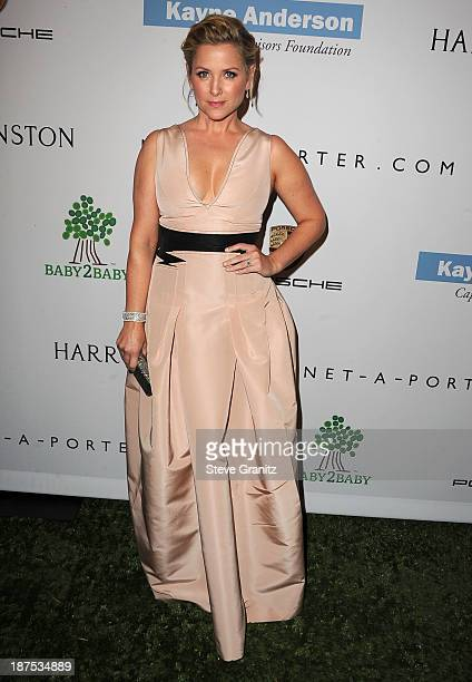 Jessica Capshaw arrives at the 2nd Annual Baby2Baby Gala at The Book Bindery on November 9 2013 in Culver City California