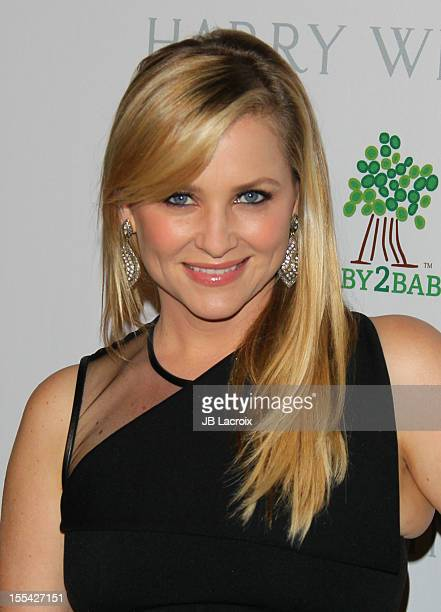 Jessica Capshaw attends the 1st Annual Baby2Baby Gala Presented By Harry Winston at Book Bindery on November 3 2012 in Culver City California