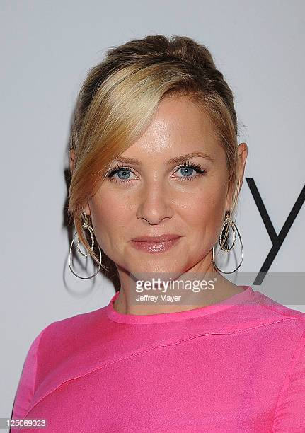 Jessica Capshaw attends the Pink Party '11 Hosted By Jennifer Garner To Benefit CedarsSinai Women's Cancer Program at Drai's Hollywood on September...