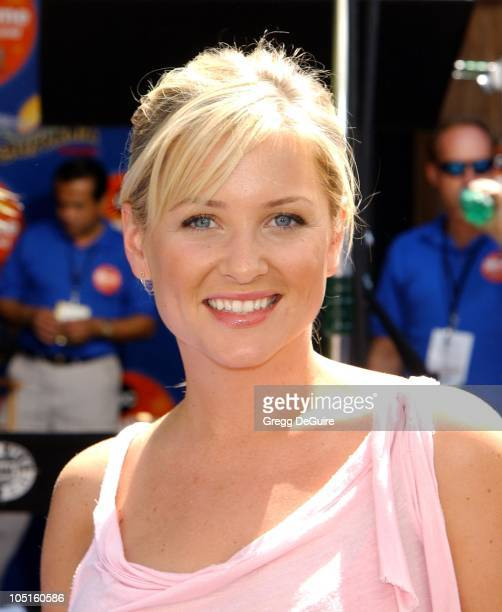 Jessica Capshaw during 2003 ABC Primetime Preview Weekend Day 2 at Disney's California Adventure in Anaheim California United States