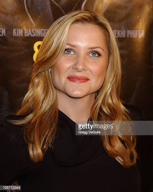 Jessica Capshaw during 8 Mile Westwood Premiere at Mann Village Theatre in Westwood California United States