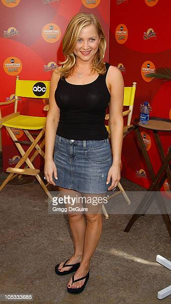 Jessica Capshaw during ABC Primetime Preview Weekend Day 2 at Disney's California Adventure in Anaheim California United States