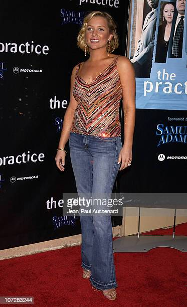 Jessica Capshaw during David Kelley and The Cast of ABC's Hit Drama 'The Practice' Celebrate The Launch of Their Eight Season at Buffalo Club in...