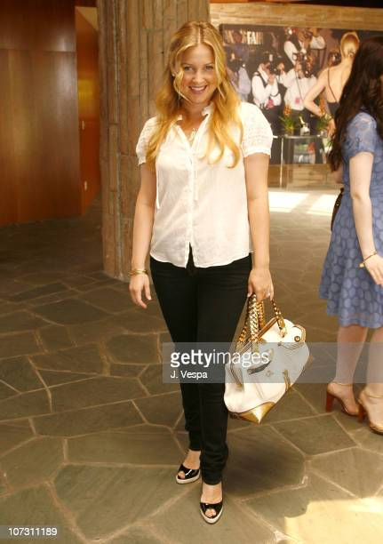 Jessica Capshaw during Kelly Lynch and Lisa Love Host a Lunch in Honor of James Ferragamo at Private Home in Los Angeles California United States