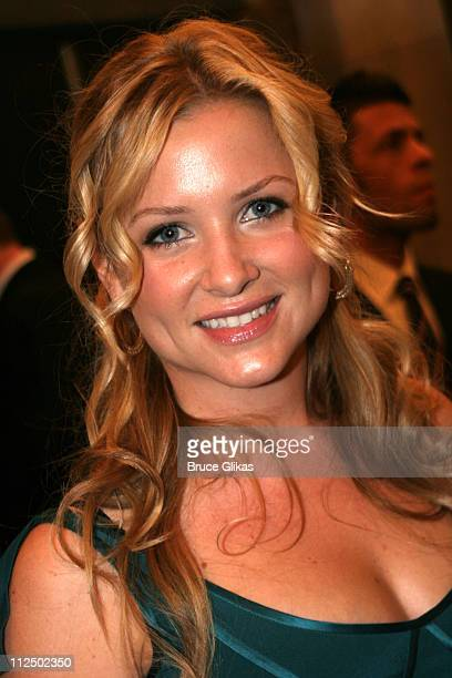 Jessica Capshaw during 'Sweet Charity' Broadway Opening Night Arrivals at The Al Hirshfeld Theater in New York City New York United States