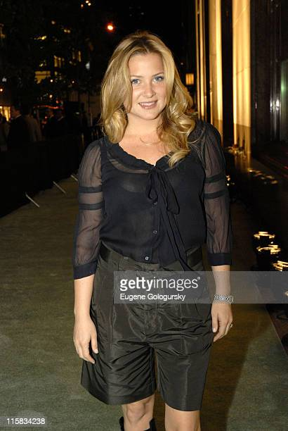 Jessica Capshaw during Tiffany Co Launches the 2007 Blue Book Collection at Tiffany's in New York City New York United States