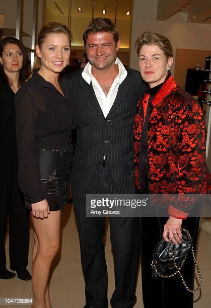Jessica Capshaw Guglielmo Melegari President of Max Mara USA and Andrea Cockrum CEO of The Fulfillment Fund