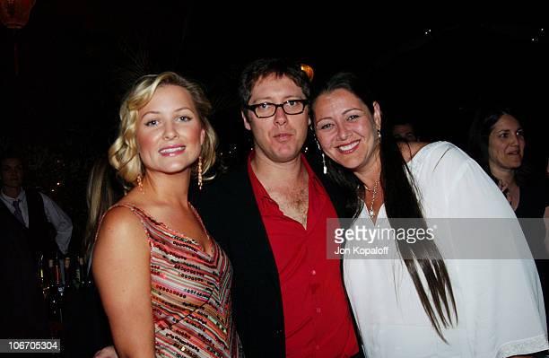 Jessica Capshaw James Spader and Camryn Manheim