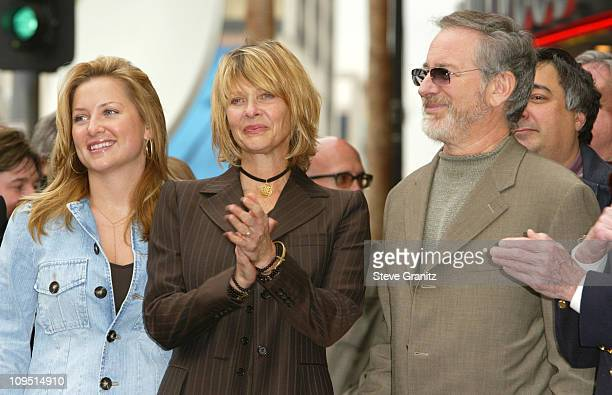 Jessica Capshaw, Kate Capshaw and Steven Spielberg